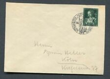 German Reich WW II : Better cover from 1939 with fancy cancel Munich