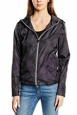 Armani Jeans womens multicoloured armani logo light jacket size 40 (8UK)