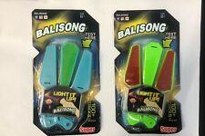LED Spin Balisong Blue Green Red Light Up 100 Tricks Flip Finz UK Seller