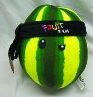 "Fruit Ninja Video Game WATERMELON 7"" Plush STUFFED ANIMAL Toy NEW"