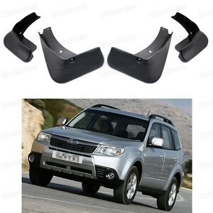 Front & Rear Car Mud Flaps Fender Mudguard Guard for Subaru Forester 2009 2013