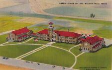 Postcard Hardin Junior College Wichita Falls Texas Tx