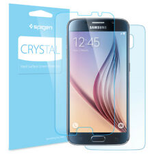 Spigen® Samsung Galaxy S6 Screen Protector [Crystal] Front & Back Clear PET Film