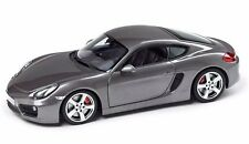PORSCHE Cayman S (981) Agate Grey 1:18 Scale Model Car