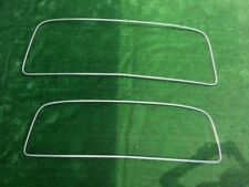 Mercedes Benz Ponton 190 b  rear windshiled / windshield chrome trim strip