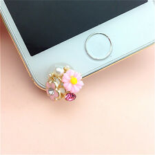 Flowers 3.5mm Front Anti-Dust Ear Cap Plug For iPhone6s,6s Plus 5th,6,6 Plus