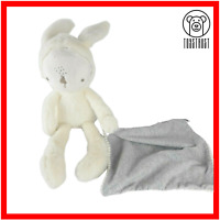 Mamas Papas My First Bunny Rabbit Blankie Comforter Soft Toy Baby Plush Teddy