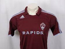 ADIDAS Colorado Rapids Home MLS Soccer Jersey Shirt -Burgundy/Blue -Women's XL