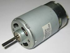 Mabuchi RS-555SH - 12V - 6000 RPM - High Torque Motor 5 Pole Hobby Motor  3.17mm
