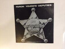 Ray Emmett – The Deputies Nashville - Spirit – Not on Label vinyl lp VG+/VG
