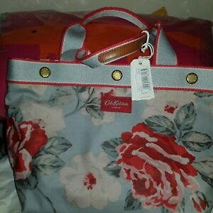 Cath Kidston Small Tote bag In New Rose Bloom Print BNWT