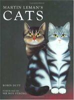 Martin Lehman's Cats by Dutt, Robin Hardback Book The Fast Free Shipping