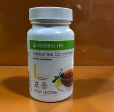 NEW Herbalife Herbal Tea Concentrate 1.8oz Lemon Flavor.exp 2021