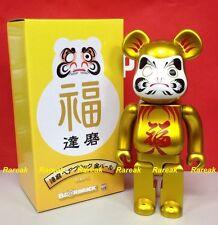 Medicom 2015 Bearbrick Skytree Metallic Golden Daruma 400% Pearl Gold Be@rbrick