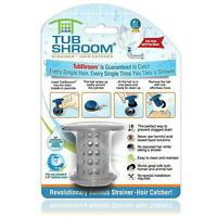 TubShroom the Revolutionary Tub Drain Protector Hair Catcher/Strainer/Snare Gray