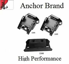 3 PCS FRONT MOTOR & AUTO TRANS MOUNT For 1967-1969 Chevy CAMARO 5.7L THM400 3SPD