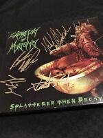 Laboratory of Mortuary SIGNED CD Slayer Amon Amarth,Behemoth, DEICIDE, Nile,
