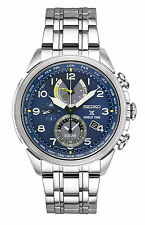 New Seiko Prospex Solar World Time Chronograph Stainless Steel Mens Watch SSC507
