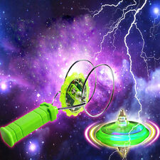 Magnetic Gyro Wheel Magic Spinning Top laser led gyro colorful light toy XD#