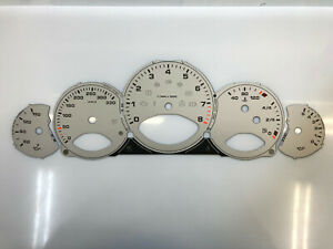 Porsche 911 997 silver dials Tachoscheiben esferas