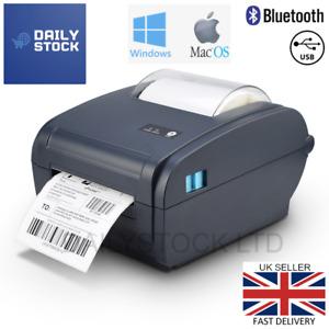 Thermal Label Printer 4x6 150x100mm Bluetooth Windows & Mac RoyalMail Hermes 6x4