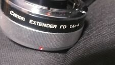 Canon EXTENDER FD 1.4x-A from Japan #1190