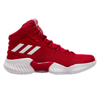 adidas Pro Bounce 2018 Men's Red White Basketball Shoes Athletic Sneakers
