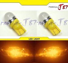 LED 5050 Light 168 Orange Amber Two Bulbs Side Marker Map Step Door Park Trunk