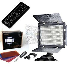 Yongnuo YN-300 II LED Video Light Lamp Camera Camcorder for Canon Nikon +Control