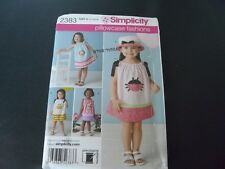 Simplicity Girls Pillowcase Fashions Patterns