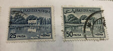 1960s Pakistan Stamps Postmarked Set Of 4