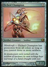 Etched Champion FOIL | NM- | SoM | Magic MTG