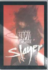 Slayer Carte Postale Postcard DG 080