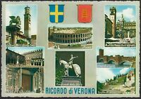 AA4567 Verona - Città - Ricordo - Vedutine - Cartolina postale - Postcard