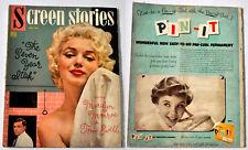 1955 U.S. SCREEN STORIES MAGAZINE Marilyn Monroe Vol. 54 No. 1