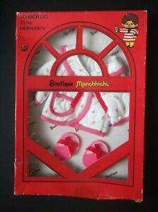 Boutique Monchhichi 56 Morgenmuffeline Morgenmantel NEU 1974 Sekiguchi