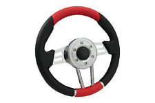 RED V2 SPORTS STEERING WHEEL 310mm 6x70mm fits Momo OMP boss kit