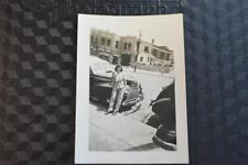 Vintage Car Photo Woman w/ 1941 Chevrolet Chevy by Pontiac Dealer 868