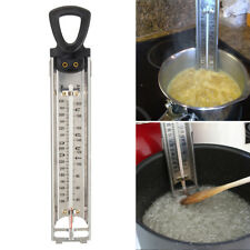 Stainless Steel Kitchen Cooking Deep Fry Thermometer Jam Sugar Candy Liquid