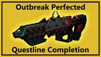 Destiny 2  -  OUTBREAK PERFECTED - 100% Completion! [ PS4, XB1, PC ] 5KD Sherpa