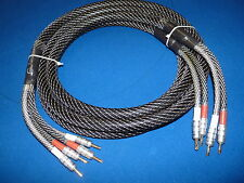 Top-End Shielded Speaker Cable 2.5m. A+++ Grade. 2N2. CMC USA Connectors. RP290
