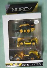AB985 NOREV SET CONSTRUCTION NEW HOLLAND Ref 311666 3 inch TBE
