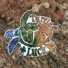 Hawaii Sea Turtle Sticker - Aloha Turtle Luck Islands Maui Kona Kauai Islands