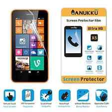 3x PELLICOLA per Nokia Lumia 630 - 635 FRONTE + PANNO PROTETTIVA DISPLAY