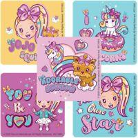 Jojo Siwa Stickers x 5 - Bows Party Supplies Loot Jojo Siwa Girl Party *Style 3