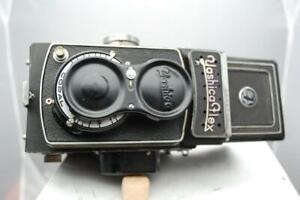 Yashicaflex 6x6 TLR camera, Heliotar 80mm f3.5 lens., see description.