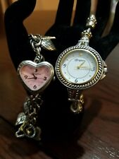 Brighton Set 2 Charming Watches Solana Beach & Live in The Moment *New Batteries