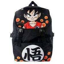 Anime Dragon Ball Z Son Goku Super Saiyan Backpack School Shoulder Bag Cosplay