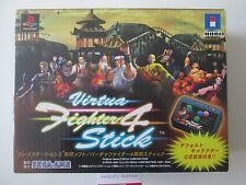 Vitrua FIGHTER 4 Arcade Stick per Playstation 2 completo nella casella (japan import)