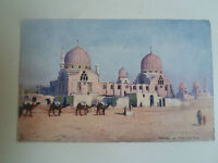 Vintage Raphael Tuck Oilette PC Tombs of the Caliphs Picturesque Egypt Date 1905